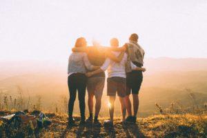 Friends using Galbraith Group Health Insurance