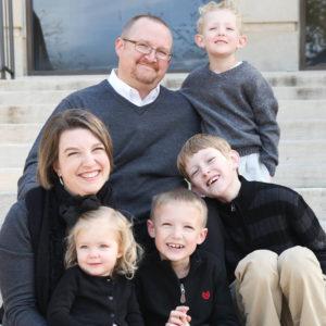The Galbraith Family in Lubbock, TX